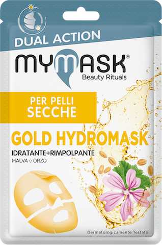 Dual action gold hydromask